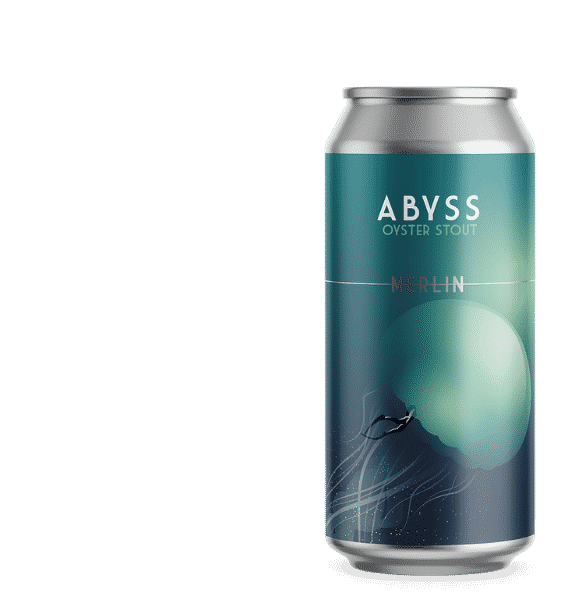 Canette Abyss Brasserie Merlin Hops Brewing More