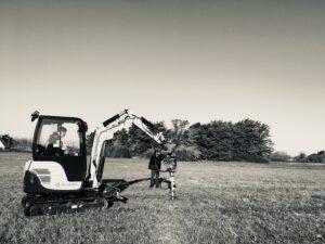 Machine pour champ de Houblon
